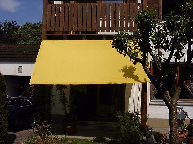 Shadesail rectangle 270 x 145 cm