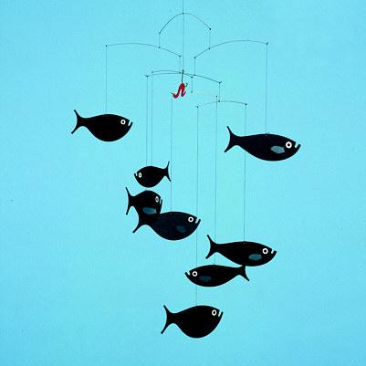 Designer Mobile Flensted Fischschule