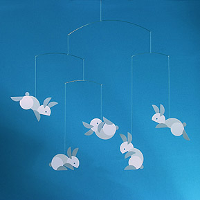 Designer Mobile Flensted Circular bunnies