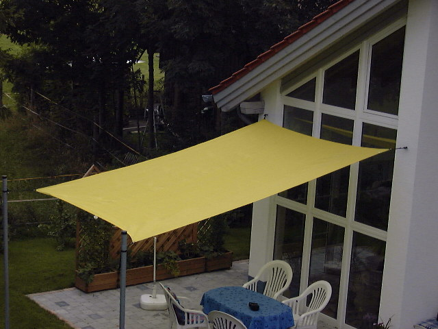Shade sail rectangle 300 x 400 cm Shadenet
